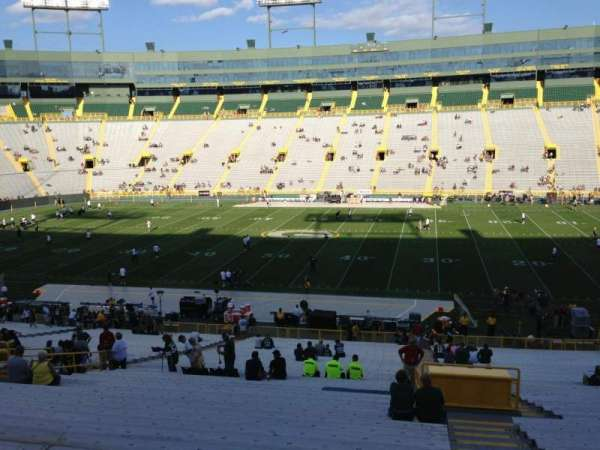 Lambeau Field, section: 124, row: 48, seat: 24