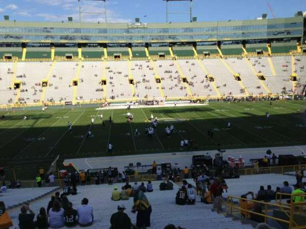 Lambeau Field, section: 118, row: 40, seat: 10