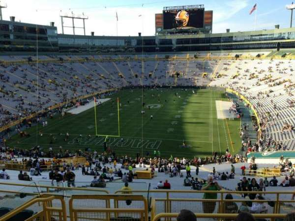 Lambeau Field, section: 351, row: 4, seat: 10