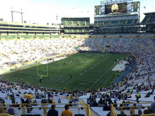 Lambeau Field, section: 306, row: 6, seat: 13