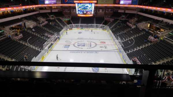 Denny Sanford Premier Center, section: 210, row: G, seat: 2