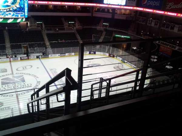 Denny Sanford Premier Center, section: 203, row: F, seat: 3