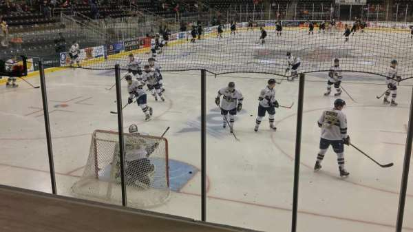 Ralston Arena, section: 119, row: H, seat: 1