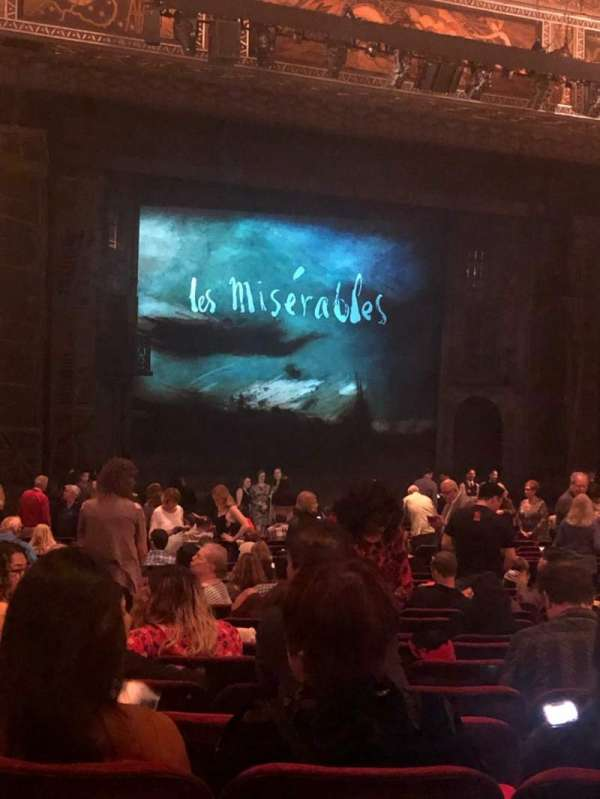 Hollywood Pantages Theatre, section: Orchestra LC, row: PP, seat: 314