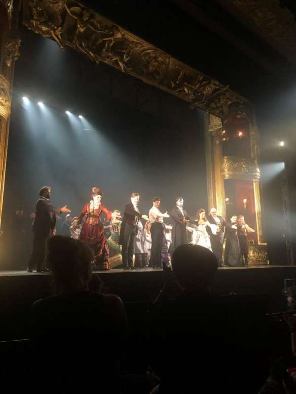 Hollywood Pantages Theatre, section: Orchestra LC, row: D, seat: 305