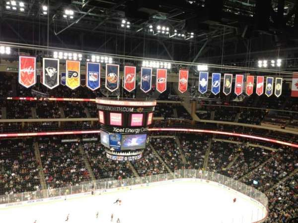 Xcel Energy Center, section: 221, row: 8, seat: 11