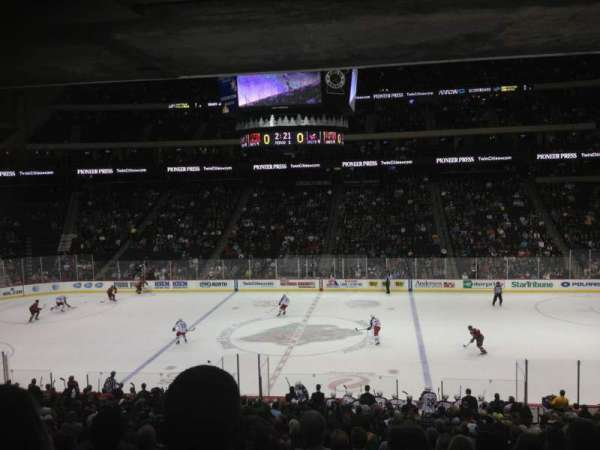 Xcel Energy Center, section: 116