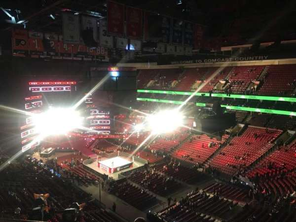 Wells Fargo Center, section: 205, row: 8, seat: 1,2