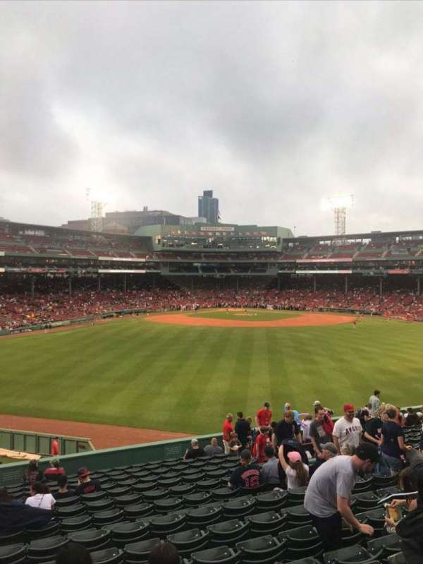 Fenway Park, section: Bleacher 37, row: 13