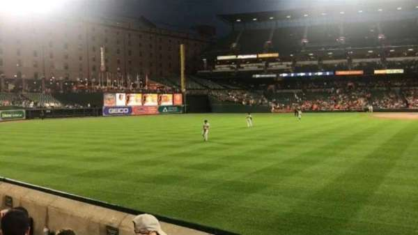 Oriole Park at Camden Yards, section: 82, row: 3
