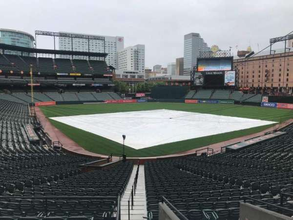 Oriole Park at Camden Yards, section: 35, row: 1