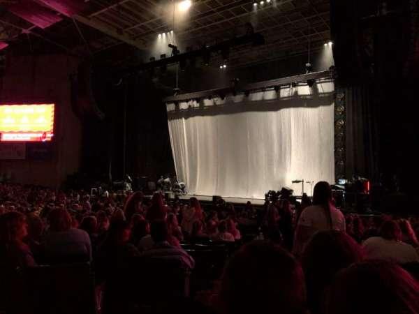 Xfinity Center, section: 1, row: AA, seat: 33