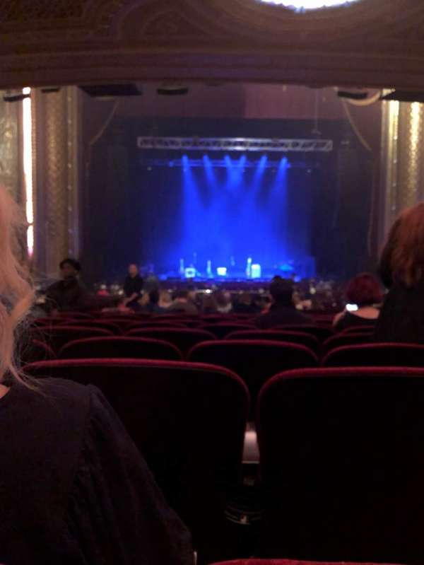 Wang Theatre, section: Orchestra C, row: CC, seat: 103