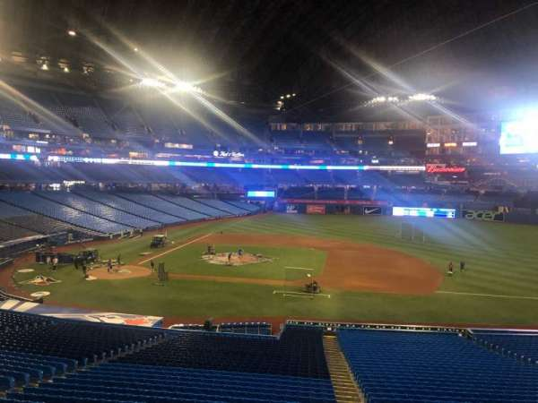 Rogers Centre, section: 218L, row: 4, seat: 101