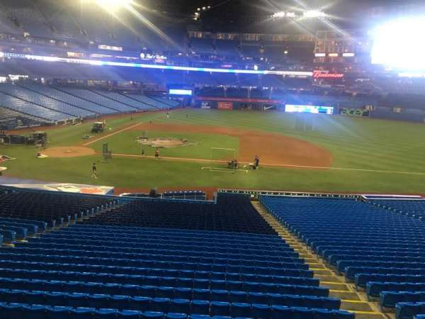 Rogers Centre, section: 218L, row: 1, seat: 105