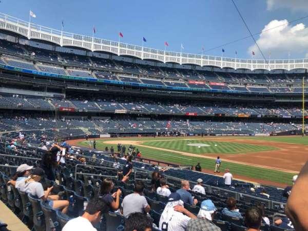 Yankee Stadium, section: 114B, row: 12