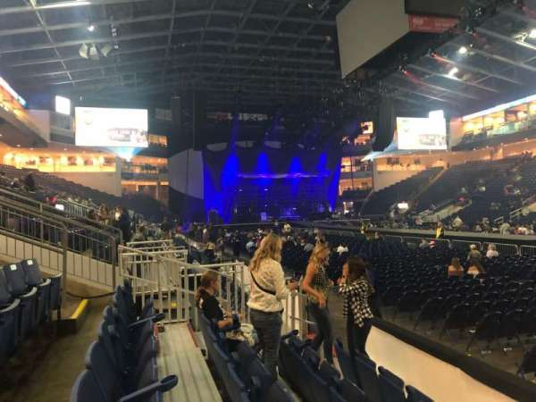 Webster Bank Arena, section: 117, row: A, seat: 1