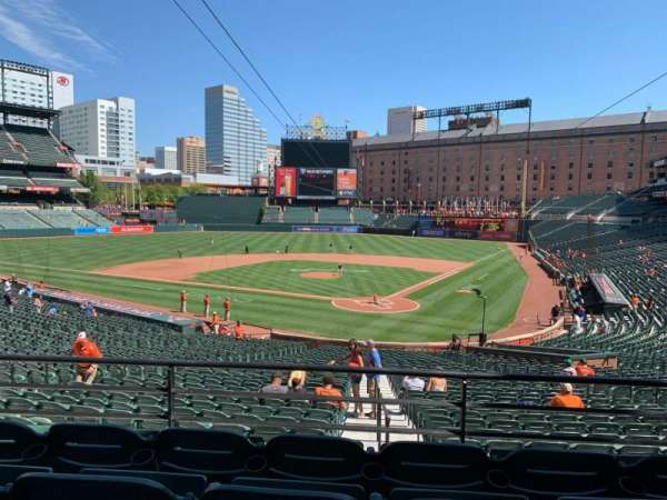 Oriole Park at Camden Yards, section: 39, row: 4, seat: 8
