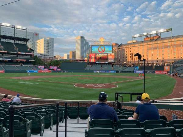 Oriole Park at Camden Yards, section: 38, row: 11, seat: 5