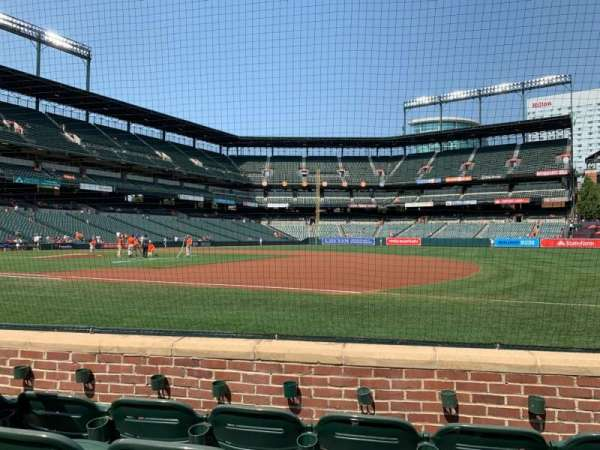 Oriole Park at Camden Yards, section: 16, row: 4, seat: 5