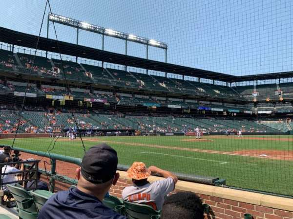 Oriole Park at Camden Yards, section: 18, row: 4, seat: 5