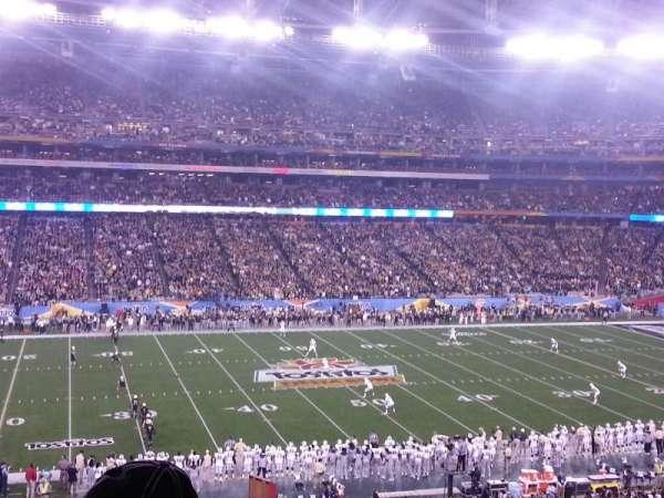 University of Phoenix Stadium, section: 214, row: 6, seat: 6