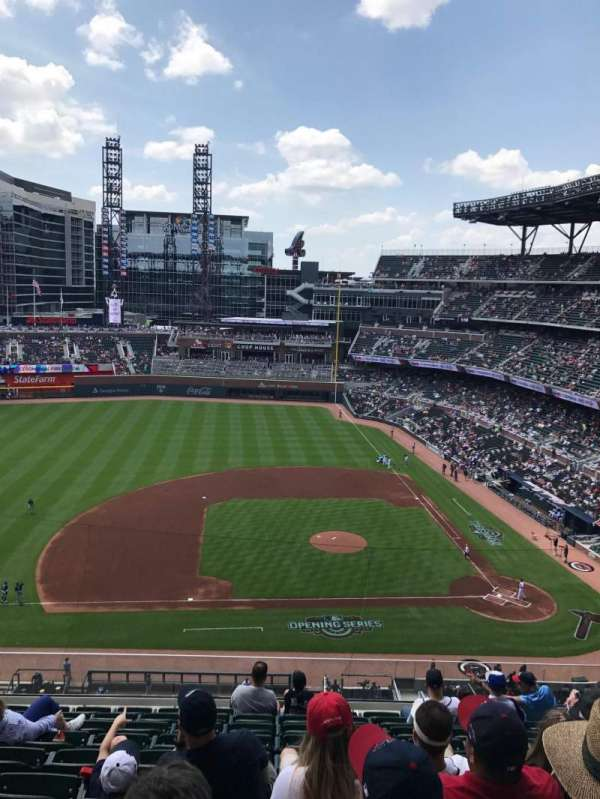 SunTrust Park, section: 331, row: 10, seat: 15