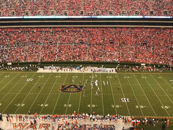 Jordan-Hare Stadium, section: 56, row: 21, seat: 16