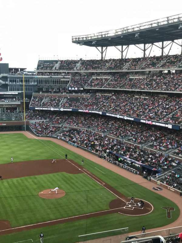 SunTrust Park, section: 337, row: 12, seat: 5