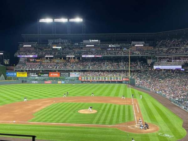Coors Field, section: 235, row: 4, seat: 13