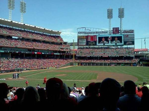 Great American Ball Park, section: 130, row: II, seat: 7-8