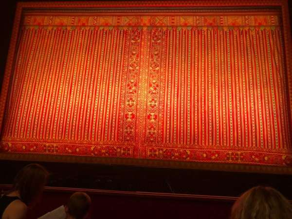 The Kennedy Center Opera House, section: Orchestra, row: G, seat: 106