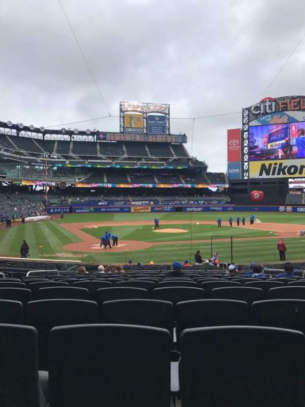 Citi Field, section: 13, row: 20, seat: 10