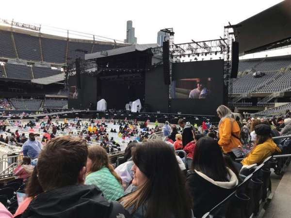 Soldier Field, section: 107, row: 9, seat: 10