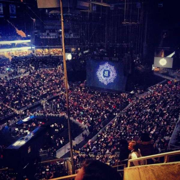 Barclays Center, section: 213, row: 13, seat: 7