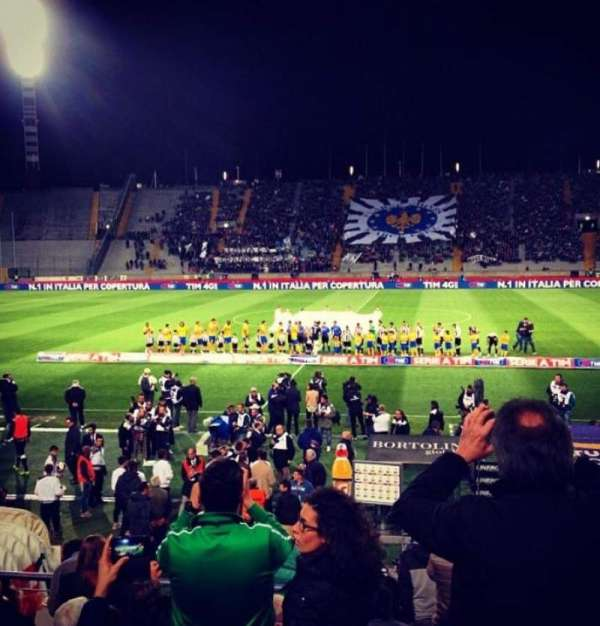 Stadio Friuli, section: Tribuna d'Onore