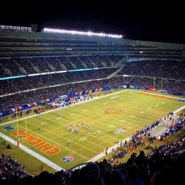 Soldier Field, section: 445, row: 23, seat: 17