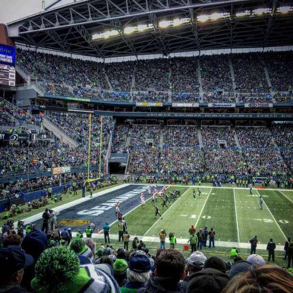 CenturyLink Field, section: CHR138, row: BB, seat: 5