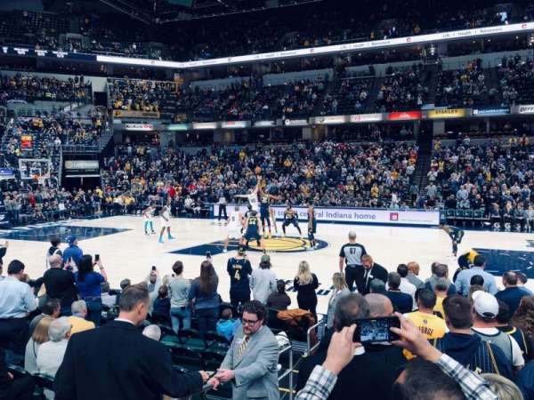 Bankers Life Fieldhouse, section: 15, row: 11, seat: 18