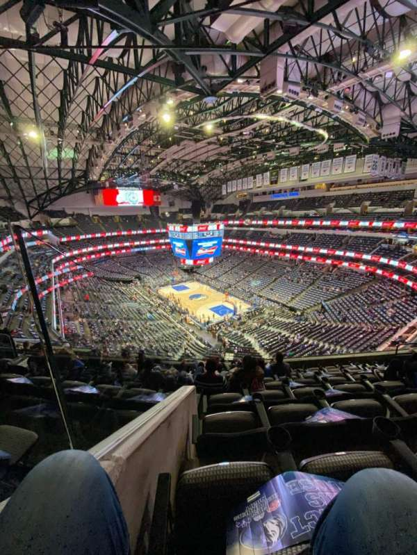 American Airlines Center, section: 321, row: H, seat: 11