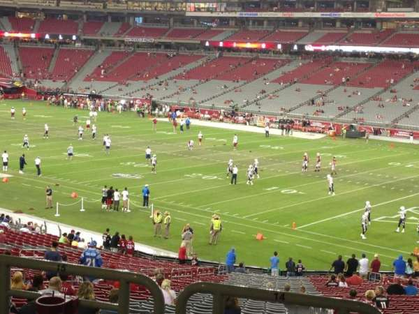 State Farm Stadium, section: 124, row: 41, seat: 14