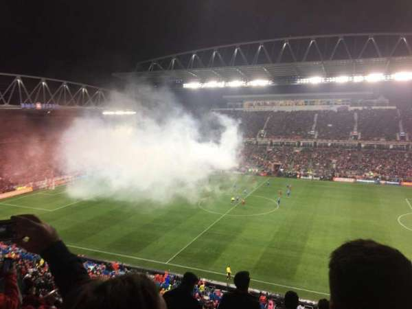 BMO Field, section: 206, row: 8, seat: 5