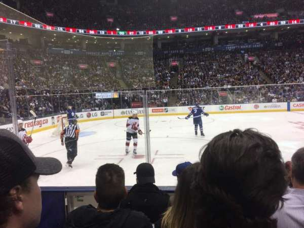 Scotiabank Arena, section: 120, row: 5, seat: 21
