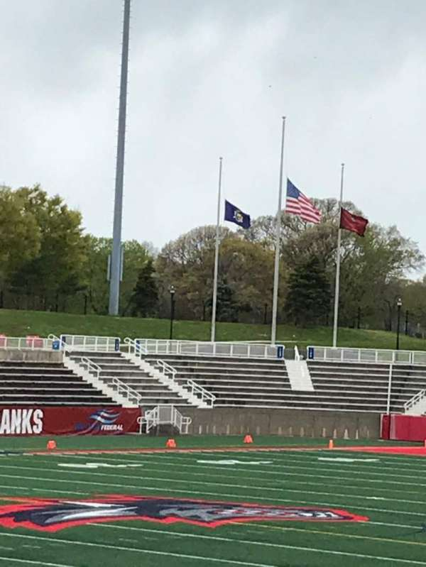Kenneth P. LaValle Stadium, section: 107, row: K, seat: 14