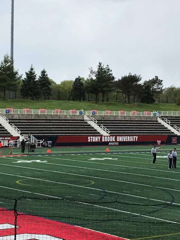 Kenneth P. LaValle Stadium, section: 108, row: K, seat: 23