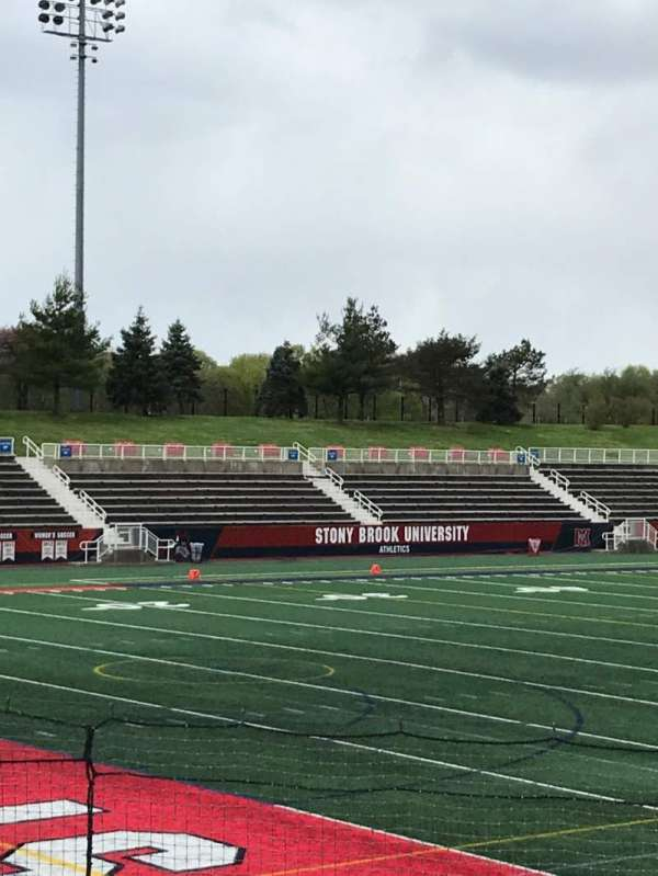 Kenneth P. LaValle Stadium, section: 108, row: K, seat: 22