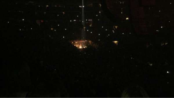 Madison Square Garden, section: 110, row: 18, seat: 16