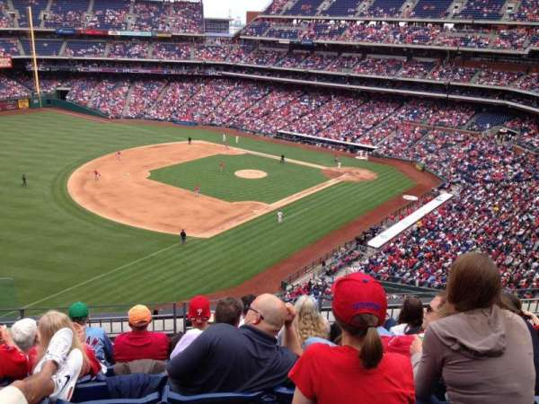 Citizens Bank Park, section: 330, row: 6, seat: 23
