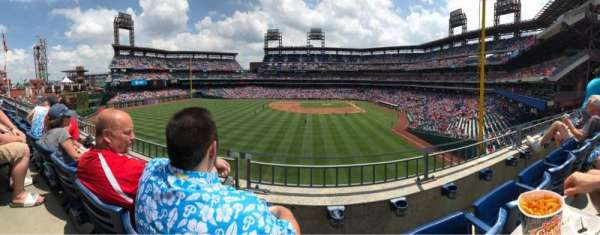 Citizens Bank Park, section: 242, row: 2, seat: 13
