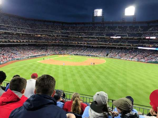 Citizens Bank Park, section: 201, row: 4, seat: 9